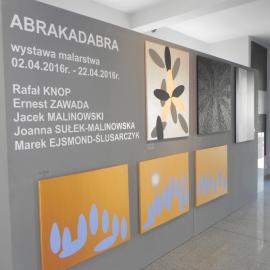 WYSTAWA MALARSTWA GRUPY ABRAKADABRA