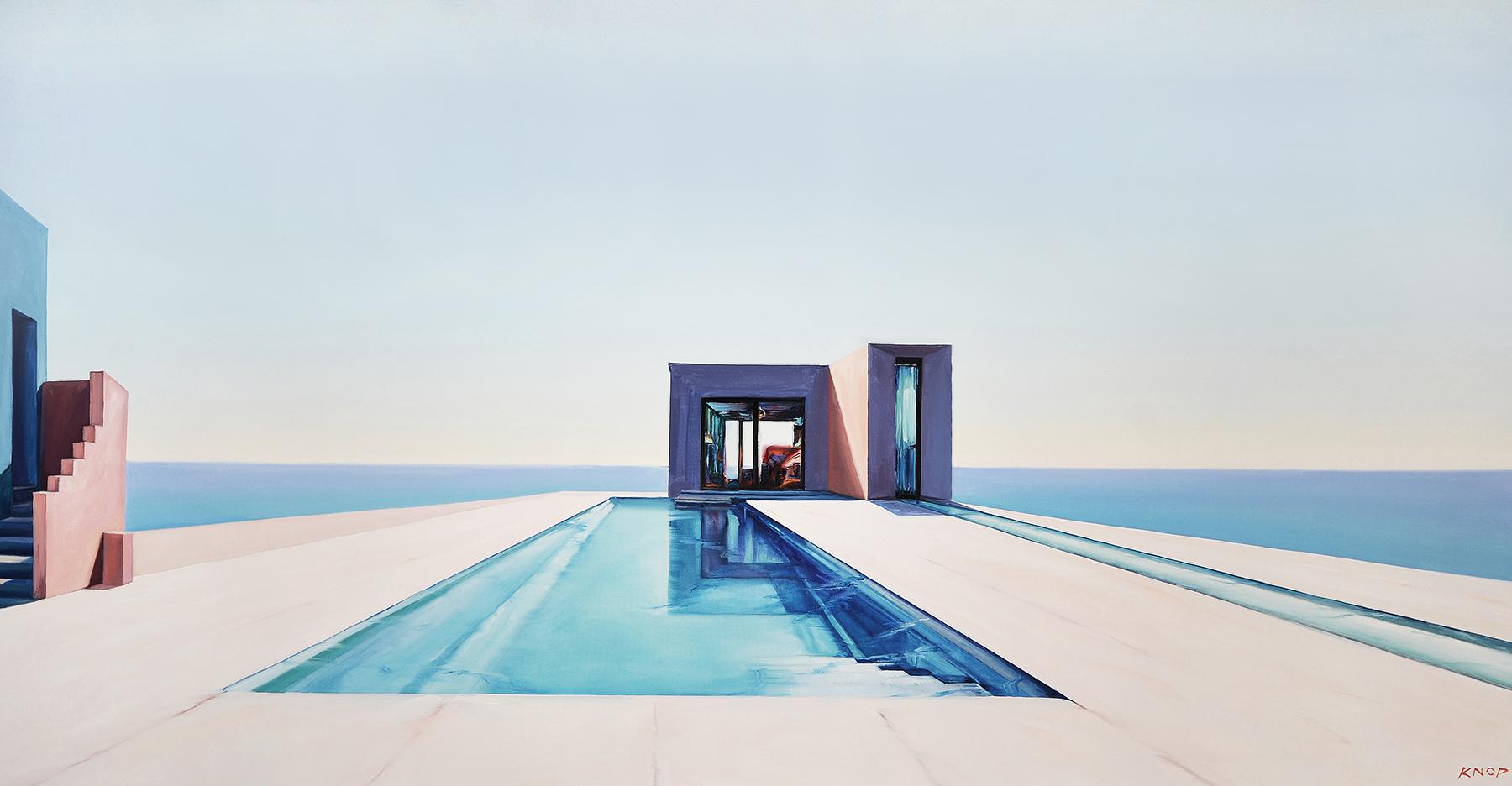 EAV XXI 07 Swimming Pool, 2021, 180x100 cm